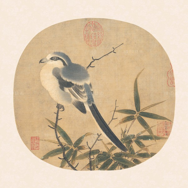 Bamboo and Shrike, Li An-chung, Song Dynasty, Giclée