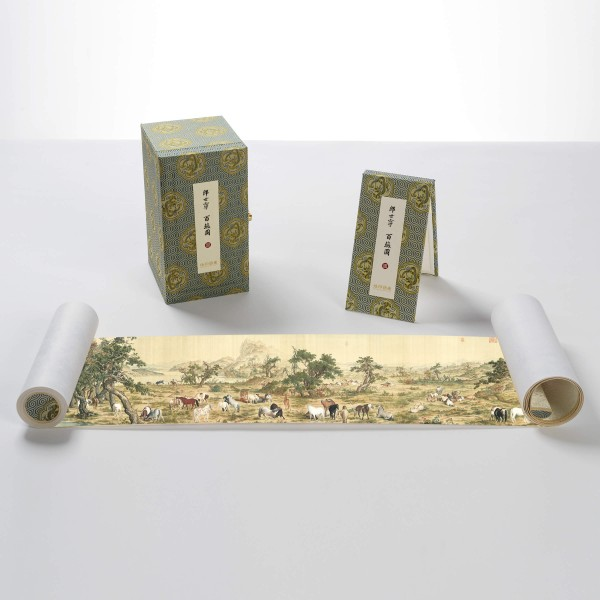 One Hundred Horses, Giuseppe Castiglione, Qing Dynasty, Limited Edition (S)