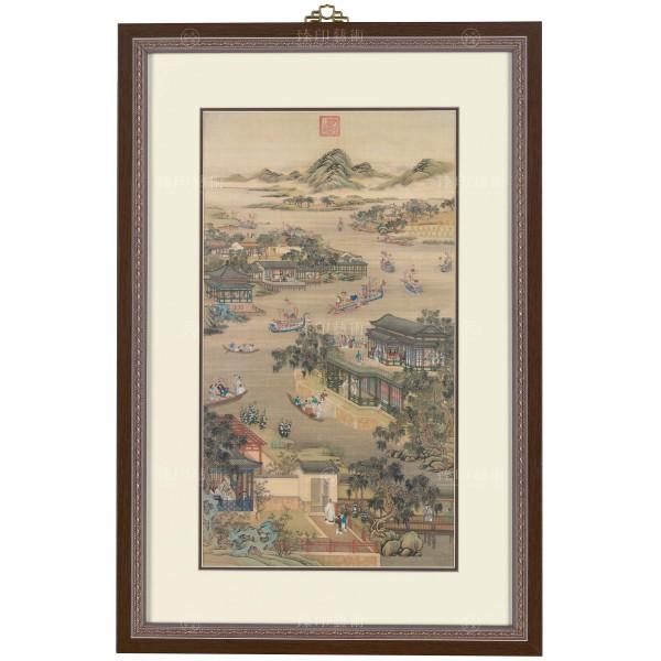清畫院 畫十二月月令圖 五月 (mini) 框