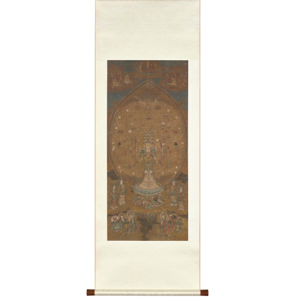 Guanshiyin Bodhisattva of a Thousand Hands and Eyes, Song Dynasty, Scroll (S)