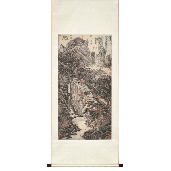 Lofty Mount Lu, Shen Zhou, Ming dynasty, Scroll (M)