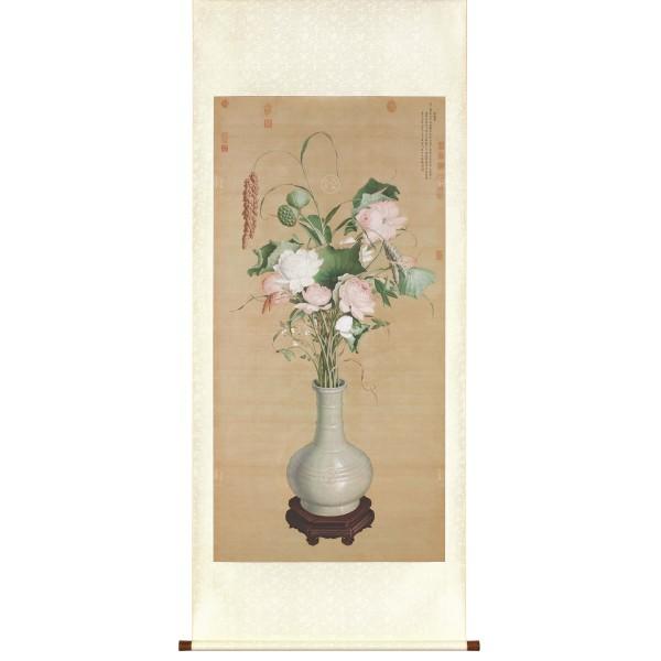 Gathering of Auspicious Signs, Giuseppe Castiglione, Qing Dynasty, Scroll (M)