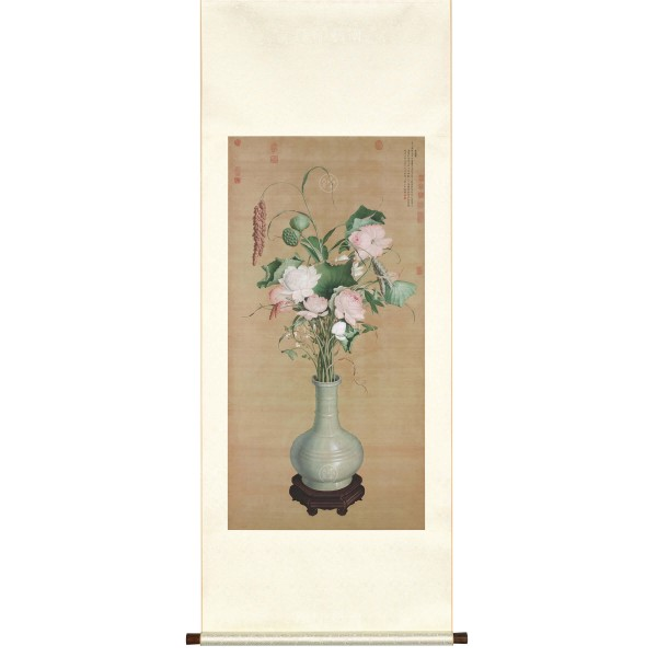 Gathering of Auspicious Signs, Giuseppe Castiglione, Qing Dynasty, Scroll (S)