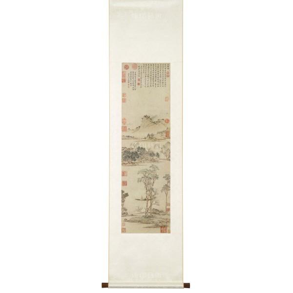 Spring in Jiangnan, Wen Zhengming, Ming Dynasty , Scroll