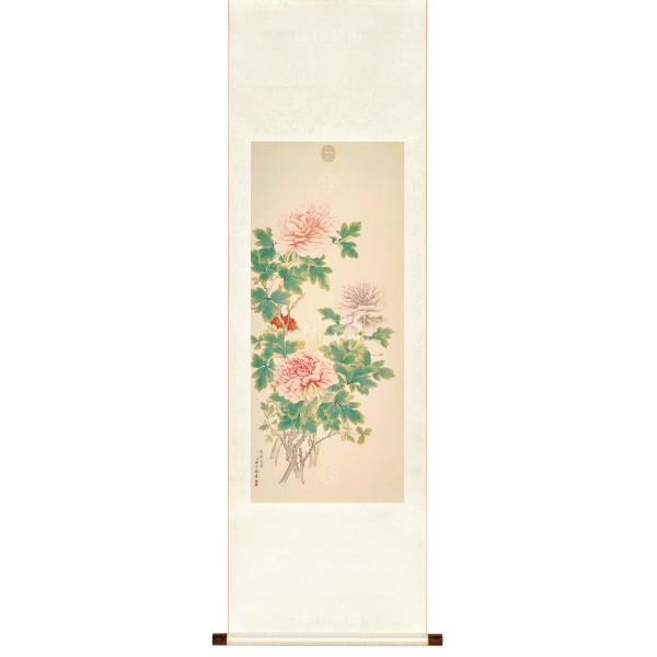 Heavenly Fragrance, Tung Kao, Qing Dynasty, Scroll