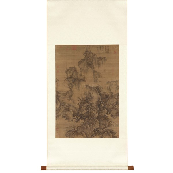 Early Spring, Guo Xi, Song Dynasty, Scroll (S)