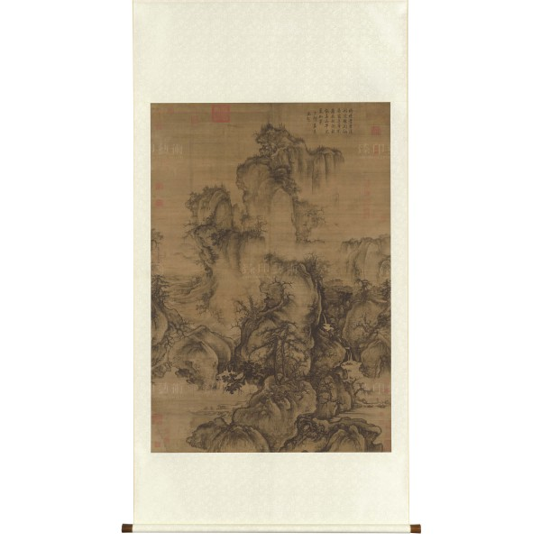 Early Spring, Guo Xi, Song Dynasty, Scroll (ORIGINAL SIZE)