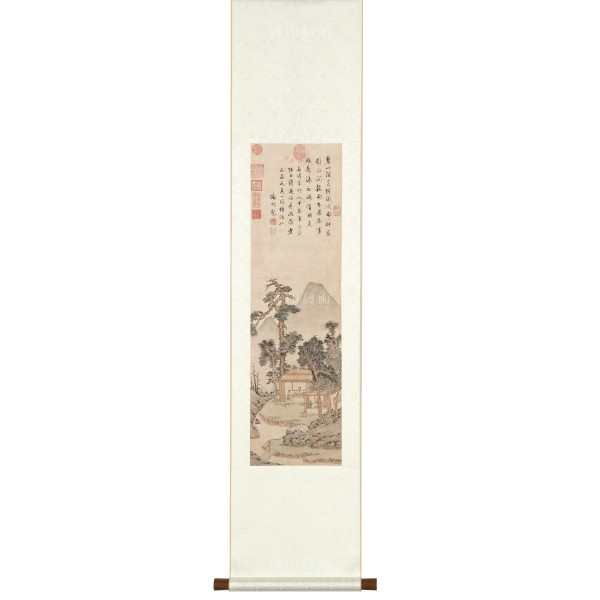 Tasting Tea, Wen Zhengming, Ming Dynasty, Scroll