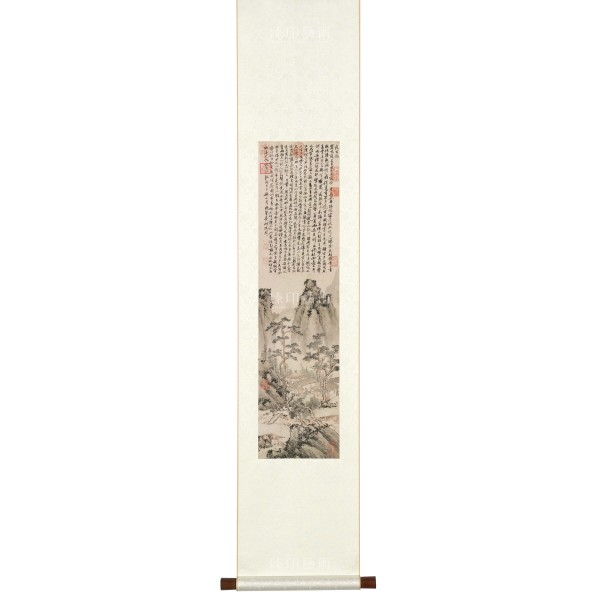Night Vigil, Shen Chou, Ming Dynasty, Scroll