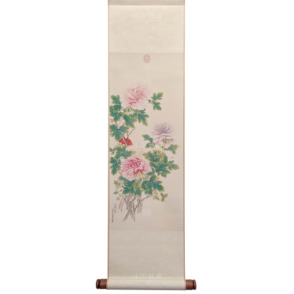Heavenly Fragrance, Tung Kao, Qing Dynasty, Mini Scroll (L)