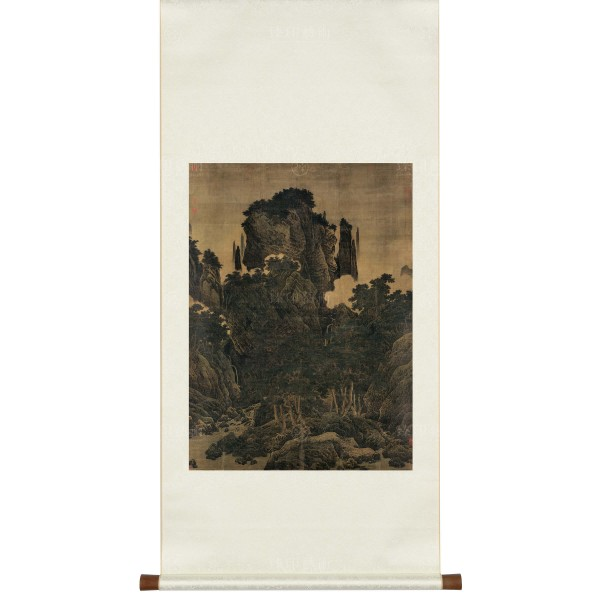 Wind in Pines Among a Myriad Valleys, Li Tang, Song Dynasty, Scroll (S)