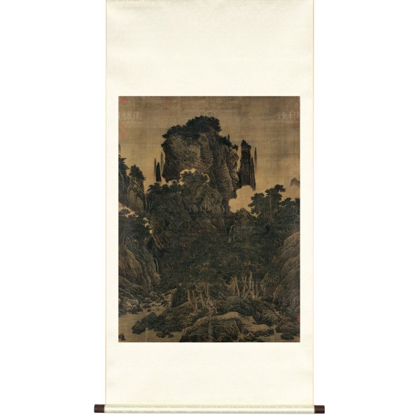Wind in Pines Among a Myriad Valleys, Li Tang, Song Dynasty, Scroll (M)