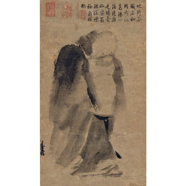 Ink figure, Liang Kai, Song Dynasty, Giclée