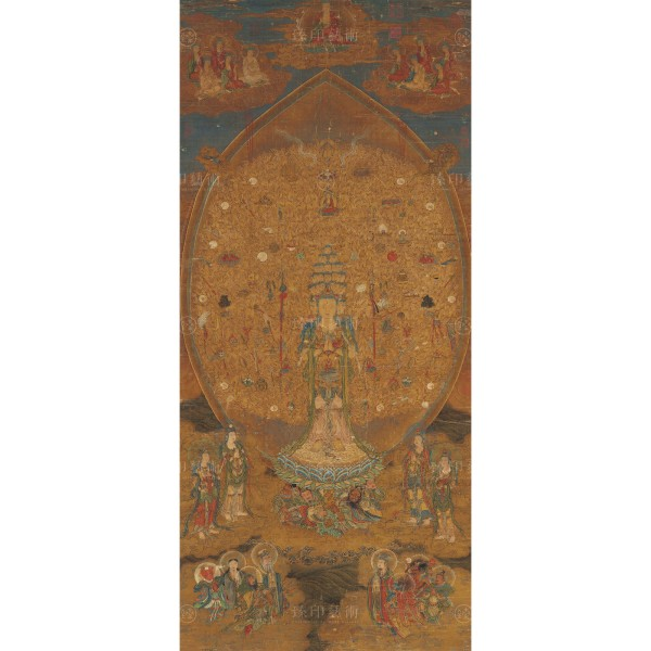 Guanshiyin Bodhisattva of a Thousand Hands and Eyes, Song Dynasty, Giclée (Original size)
