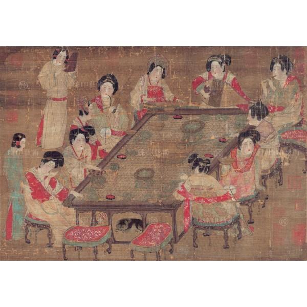 A Palace Concert, Tang Dynasty, Giclée