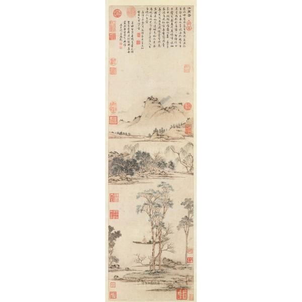 Spring in Jiangnan, Wen Cheng-ming, Ming Dynasty, Giclée