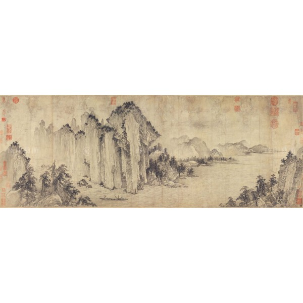 The Red Cliff, Wu Yuanzhi, Jin Dynasty, Giclée