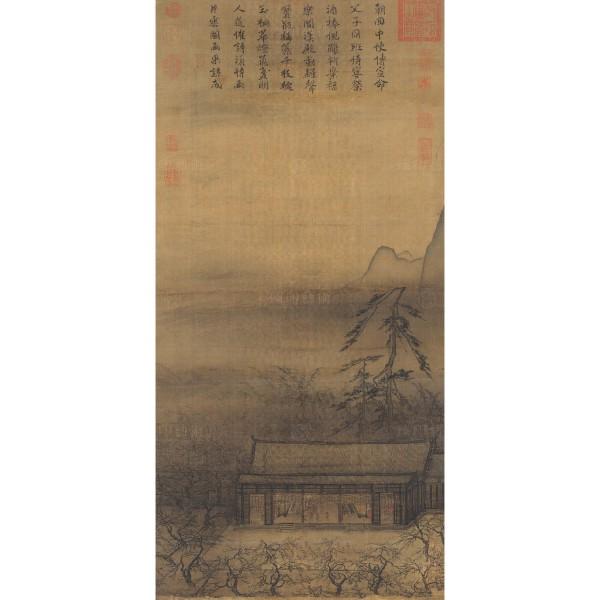 Banquet by Lantern Light, Ma Yuan, Song Dynasty, Giclée