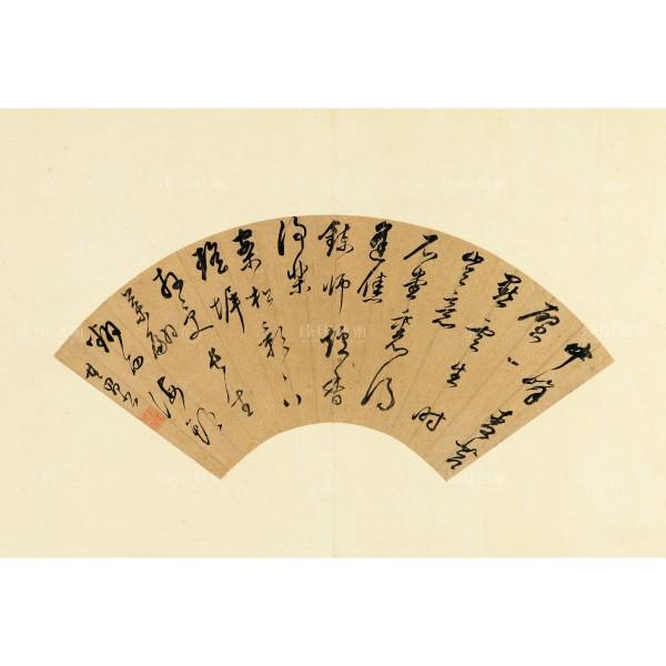 Semi-Cursive WuLu, Dong Qichang, Ming Dynasty, Giclée