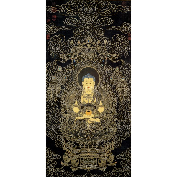 Amitayus Buddha, Yao Wen-han, Qing Dynasty, Giclée
