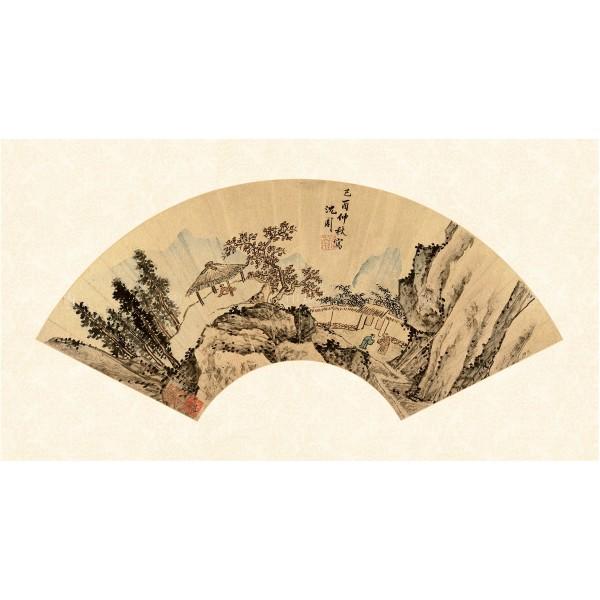 Autumn Scenery, Shen Zhou, Ming Dynasty, Giclée