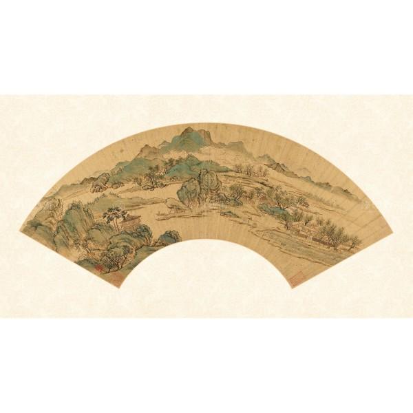 Scenery, Qiu Ying, Ming Dynasty, Giclée