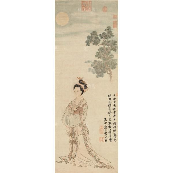 Chang-o Ascending to the Moon,  Tang Yin, Ming Dynasty, Giclée