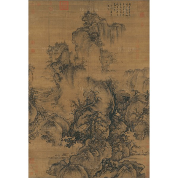 Early Spring, Guo Xi, Song Dynasty, Giclée (Original size)