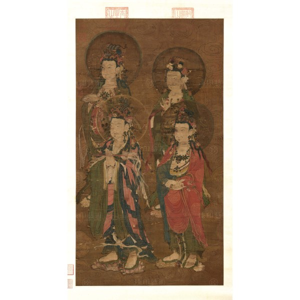 Expounding the Sutra, Yuan Dynasty, Giclée (Right)