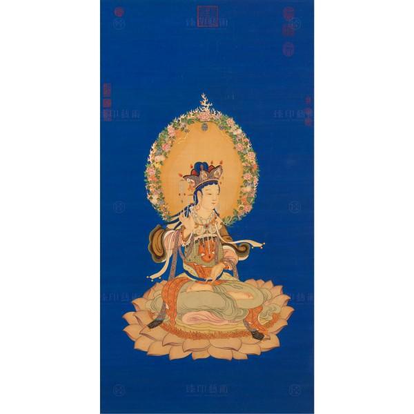 The Manjusri, Ding Guanpeng, Qing Dynasty, Giclée (S)