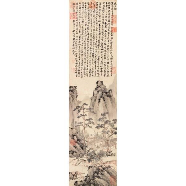 Night Vigil, Shen Chou, Ming Dynasty, Giclée
