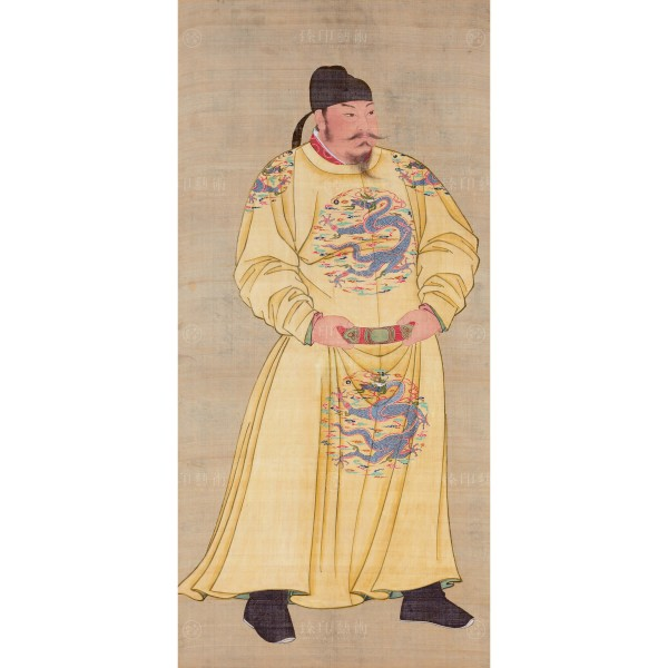 Standing Portrait of Emperor Tang Taizong (I), Giclée (S)