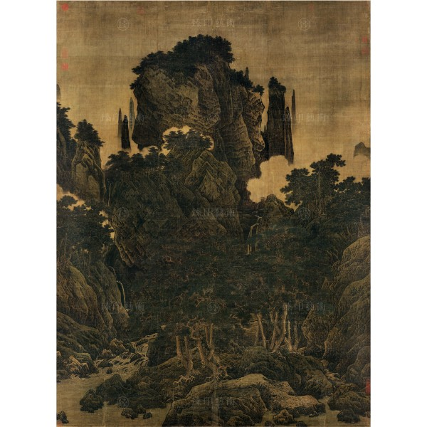 Wind in Pines Among a Myriad Valleys, Li Tang, Song Dynasty, Giclée (Original size)