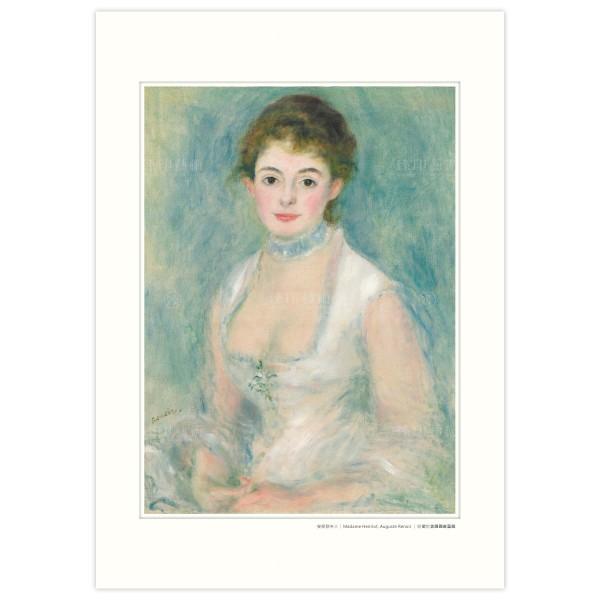 A3 Size, Print Card, Madame Henriot, Auguste Renoir