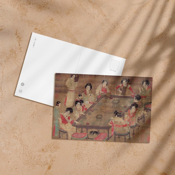 Postcard, A Palace Concert, Tang Dynasty