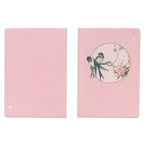 Notebook,  Immortal Blossoms in an Everlasting Spring.Peach Blossom