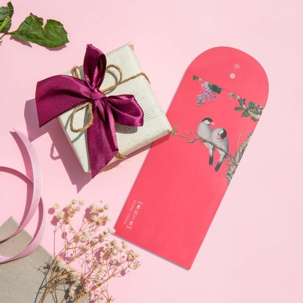 Luck Envelope,  Immortal Blossoms in an Everlasting Spring.Peach Blossom, 6 Envelopes