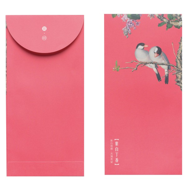 Luck Envelope,  Immortal Blossoms in an Everlasting Spring.Peach Blossom, 6 Envelopes