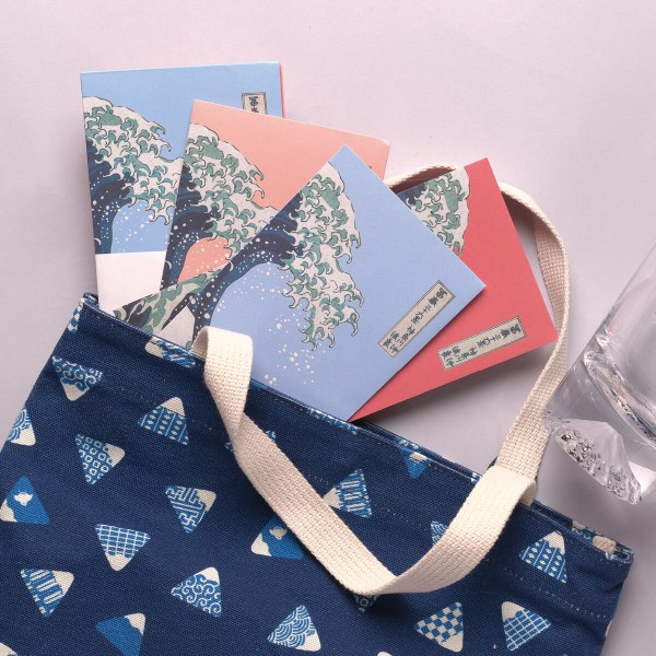 Luck Envelope Variety Pack, The Great Wave of Kanagawa, 6 Envelopes for  a Set