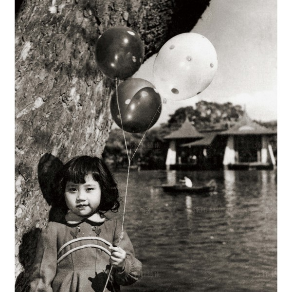 Chen, Geng-bin, Go on a Park Tour with a Balloon, Giclee
