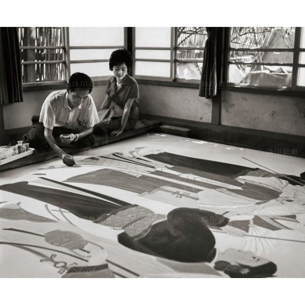 Chen, Geng-bin, The Painting of Teacher Lin, Zhi-zhu, Giclee