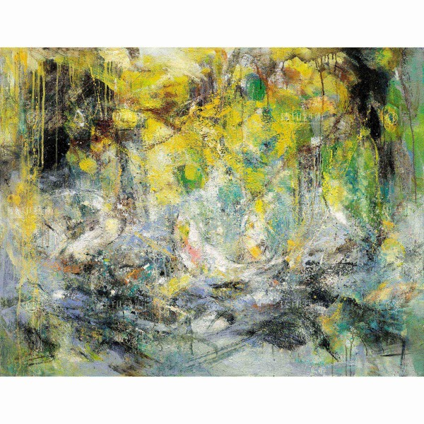 Chen Mei-hui, Lotus Compete with Carp, Giclee