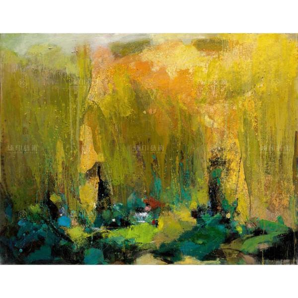 Chen Mei-hui, Lotus Pond in Summer, Giclee