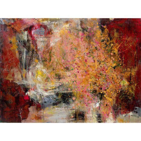 Chen Mei-hui, Flying Flower & Red Rain, Giclee