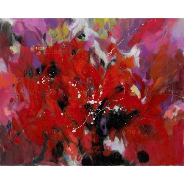 Chen Mei-hui, Flying Flowers, Giclee
