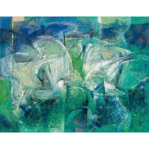 Chen Mei-hui, Egret Fords in Autumn Water, Giclee