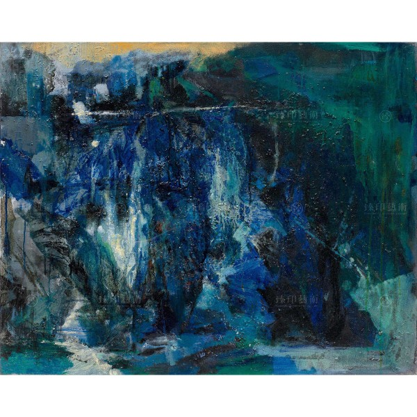 Chen Mei-hui, Clear Water Embraced by Mountains, Giclee