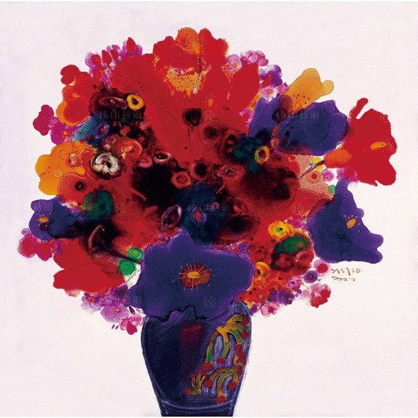 Chen Ming-shan, Flowers of rememberance, Giclee