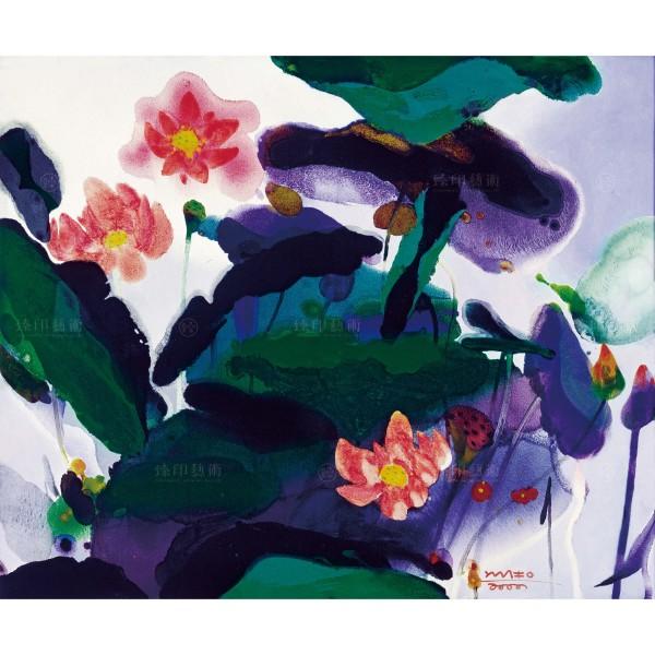 Chen Ming-shan, Lotus, Giclee