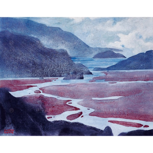 Chen Ming-shan, Mountains High, Rivers Long, Giclee